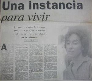 El Comercio, 3 de enero de 1993