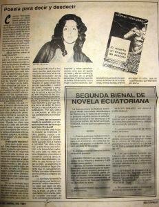 El Telégrafo, 14 de abril de 1991