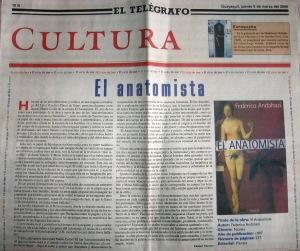 El Telégrafo, 9 de marzo de 2000