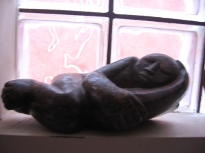 esculpido en la gloria de la imaginación vaya a saber de quién