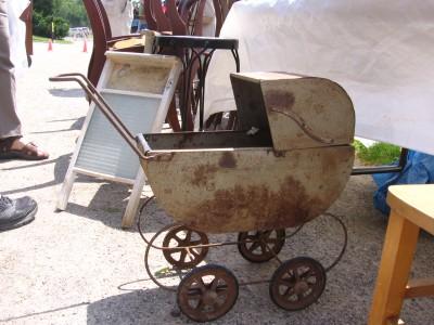 se oxida la razón y el coche de lata para la coleccionista