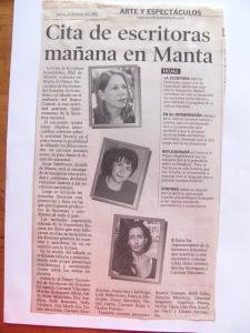 Gilda holts, martha rodriguez, Carmen vàscones, 20 junio de 2002