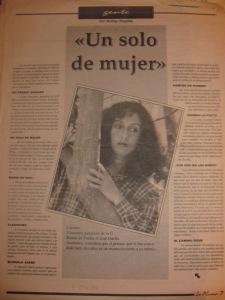 carmen vàscones, diario el tiempo, la pluma, 4 de diciembre, entrevista por rodrigo mogollòn