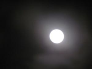luna, fotografía de carmen váscones, 23 de junio de 2013