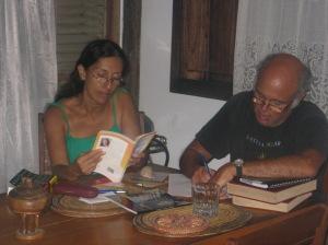 alexis levitin y carmen váscones traduciendo poemas2011
