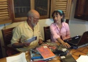 carmen váscones y alexis levitin, traduciendo cuentos y poemas 2013