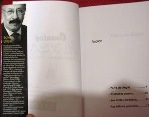 edwin ulloa y su libro polvo de ángel