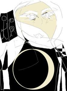 carmen vascones dibujo MALALA rostro de los rostros para no olvidar