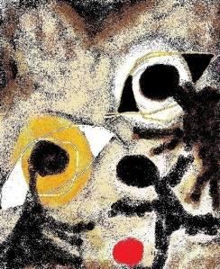 carmen vàscones y su dibujo sombra sin tropiezo 2015