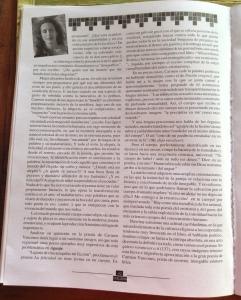 carmen vàscones y su libro aguaje 1999