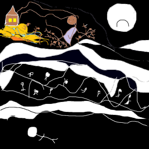carmen váscones y dibujo niño muerto 2015