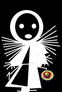 carmen vàscones y su dibujo multicolores de la nada