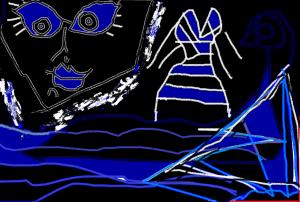 2 ojos de mar por carmen váscones