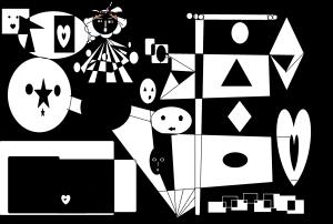 partitura del blancoscuro por carmen váscones 2015