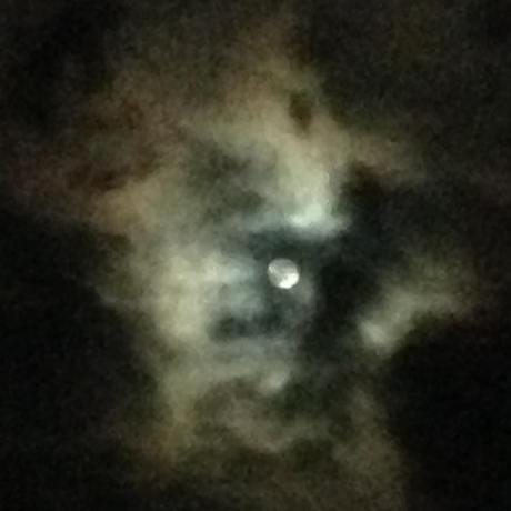 mi luna azul