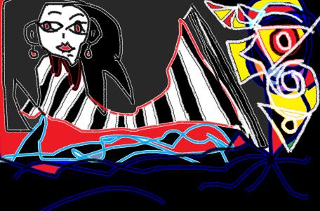 carmen váscones dibujo sirena 8