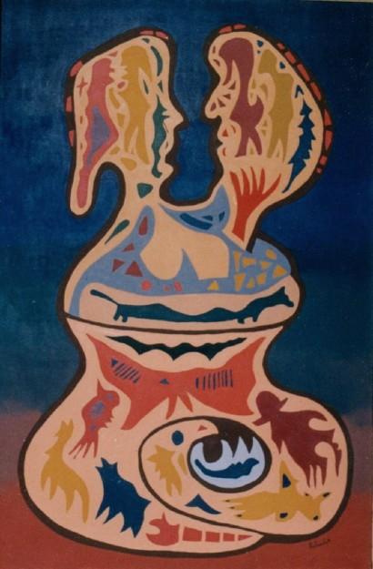 roger hollander y su óle vasija matrimonial