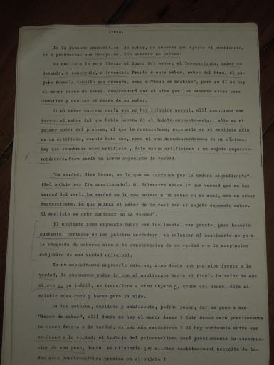 pedro oyervide :el psicoanálisis y su transmisión.páginas del 17 A al 27. /El iniciador en Ecuador de una palabra fundante diferente/