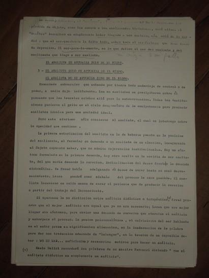 pedro oyervide :el psicoanálisis y su transmisión.páginas del 18 al 27. /El iniciador en Ecuador de una palabra fundante diferente/