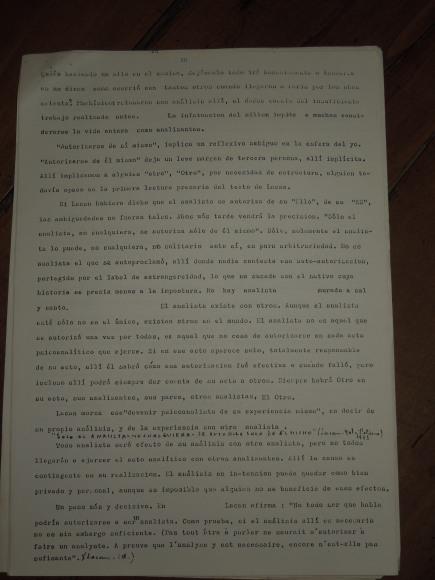 pedro oyervide :el psicoanálisis y su transmisión.páginas del 20 al 27. /El iniciador en Ecuador de una palabra fundante diferente/