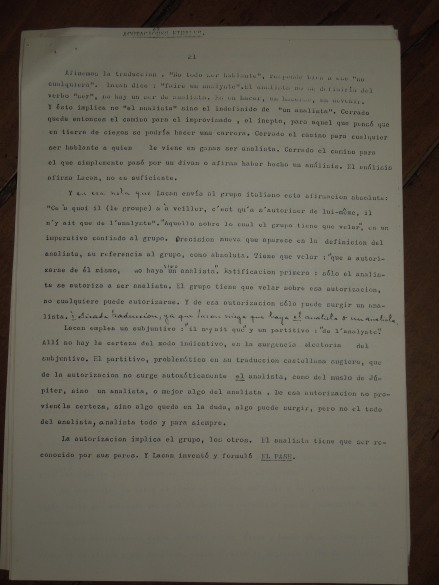 pedro oyervide :el psicoanálisis y su transmisión.páginas del 21 al 27. /El iniciador en Ecuador de una palabra fundante diferente/