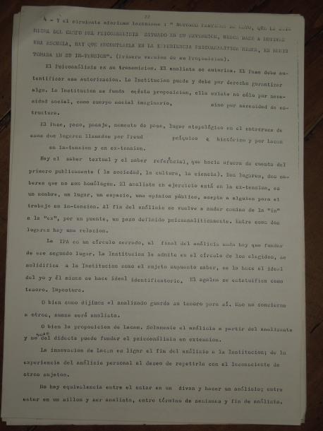 pedro oyervide :el psicoanálisis y su transmisión.páginas del 22 al 27. /El iniciador en Ecuador de una palabra fundante diferente/