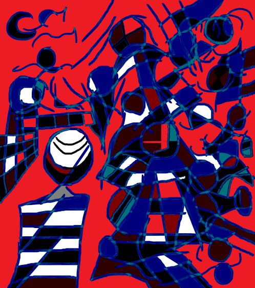 charlie deymond amigo increíble y ser maravilloso, 2016 dibujo 3
