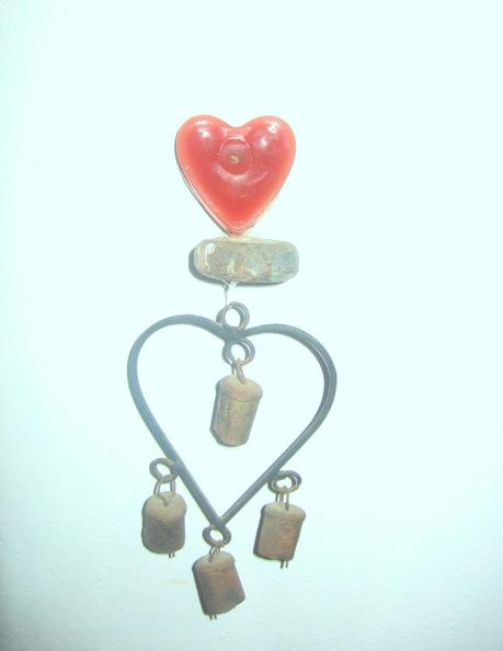corazón, instalación de carmen váscones