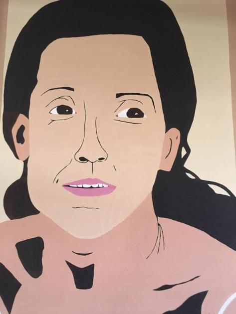 pintura rostro de las américas de roger hollander