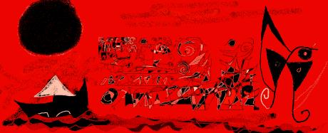 dibujo serie sal y sol de carmen váscones 2017